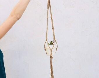 Jute Plant Hanger 36 Inch.
