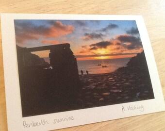 Penberth Cove sunrise