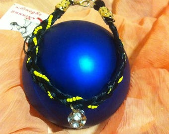 Horsehair Bracelet with ornaments