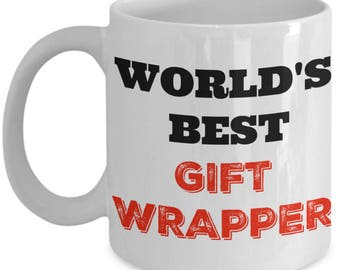 Mug Gift Wrapper - World's Best Gift Wrapper