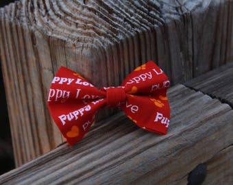 Love Puppy Bow Tie