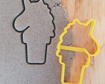 Unicorn Icecream Cookie Cutter