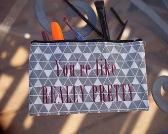 Mean girls make-up bag