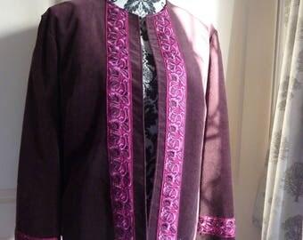 Short Mixed fibres jacket