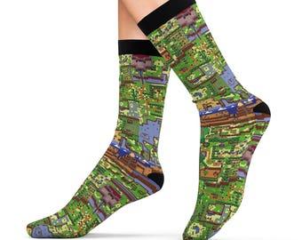 The Legend Of Zelda // Link's Awakening // Hyrule // Sublimation Socks