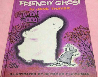 Gus the Friendly Ghost Hardcover Book 1962 Vintage