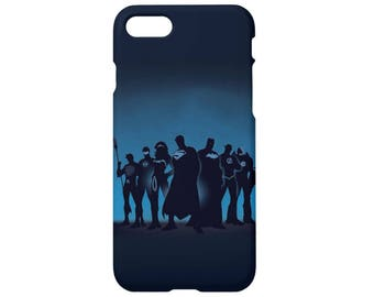 Case for iPhone x case iPhone 8 case 8 plus iPhone 7 case 7 plus iPhone 6s, 6s plus iPhone 6, 6 plus 5, 5s, se, Justice league