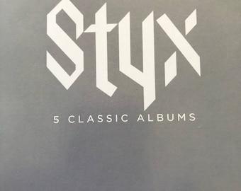 styx 5 cd box set