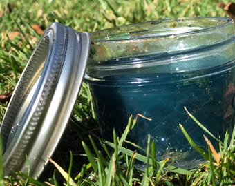 Blue ocean slime