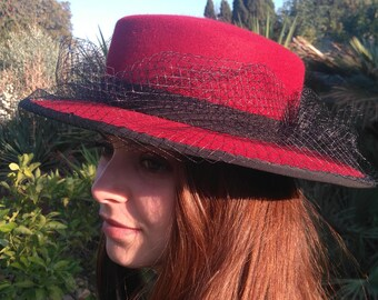 "Andalusian Hat - pattern ""Estela"""