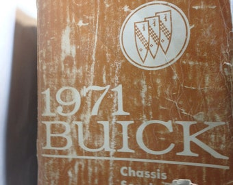 1971 Buick chassis service manual-all series