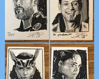 Thor Sketch card lot