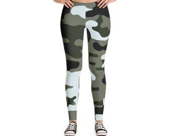 Urban Camouflage Leggings