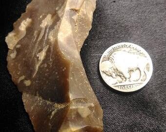 Authentic Native American Scraper\Knife Artifact #43
