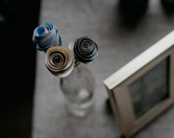 Paper Flowers for Centerpieces