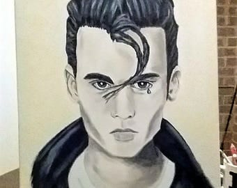 Johnny Depp Painting