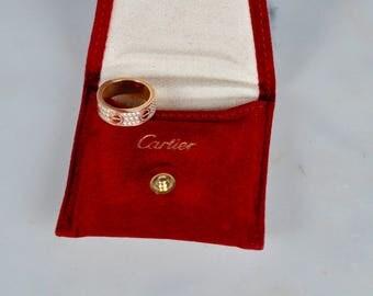 Diamond Cartier Love Ring