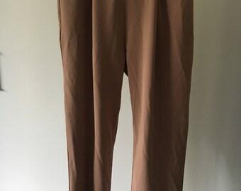 Tan Business Pants