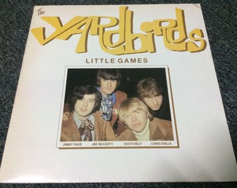 The Yardbirds Little Album Records 67 reissue compilation 1985 Rak Records Pchychedelic UK Rock Band 60s Made In Great Britain 33 1/3rpm VG+