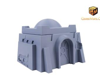 Star Wars Legion | Terrain | Wargaming | Tatooine Style Small Desert House B | Tabletop Terrain | RPG | PrinTerrain