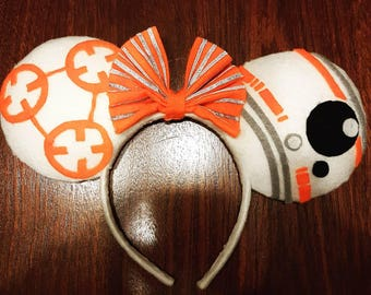 BB8 Themed Ears