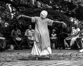 Congo Square - New Orleans 2016 - Fine Art Photograph - Street Photography - Black and White - Fine Art Print
