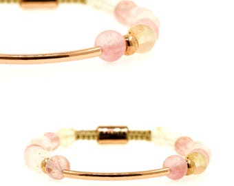 Watermelon Gold Bracelet