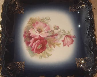 Decorative hand painted plate from Bravaria