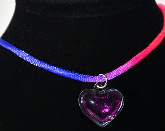 Jelly heart chokers
