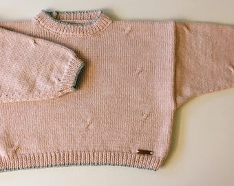 Cropped Jumper - 80's Style