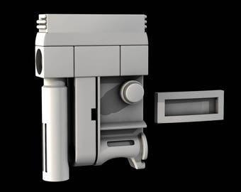 Star Wars Rogue one At-Act Helmet Nurnies 3D File