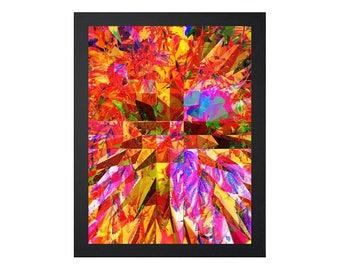 Georganic: Sunrise (Printable Art - Geometric - Instant Digital Download)
