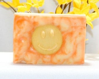 Sunshine and Happiness, Orange, Goat Milk, Soap, Citrus