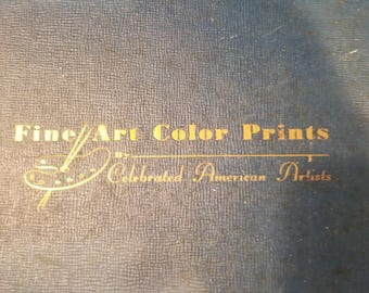 Fine Art Color Prints By Celebrated American Artists Hardcover – 1945