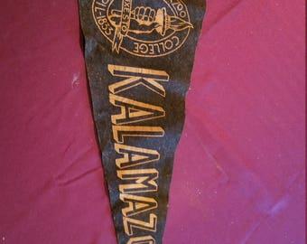 1950's Kalamazoo Pennant