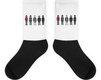 Stranger Things Crew Socks | Stranger Things Store | Stranger Things Shirts, Mugs, Leggings & More
