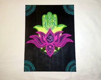 An Om in Lotus