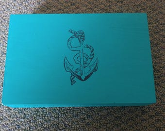 Anchor treasure box