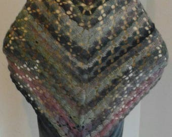 Beautiful multicolor shawl that is stylish and will also keep you warm