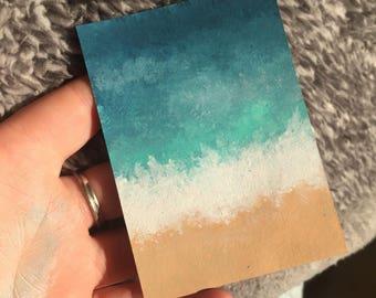 ATC Ocean Painting