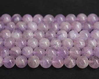 15 Inches Full Strand,AA lavender amethyst jade round beads,crystal beads,purple jade beads,loose beads,semi-precious stone,6,8,10,12mm