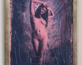 Venus - hand textured photography