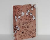 Pink Japanese Blossom Casebound Notebook