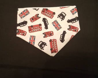 London transport dog bandana