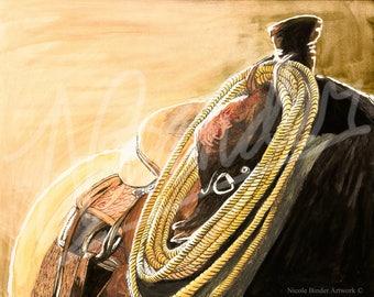 Suede Seat | Saddle |Western saddle
