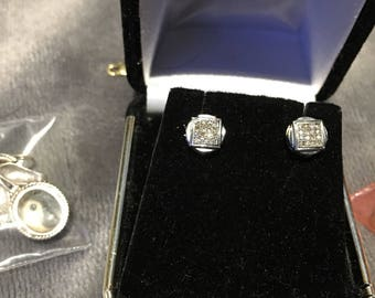 10 karat gold earrings
