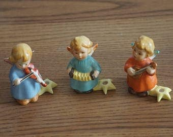 Goebel 3 angels playing music HX234/0, HX234/B, HX234/D