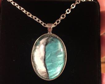 White birch pendant