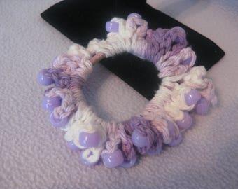 Crocheted hairband