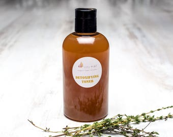 Infused thyme pore refining toner